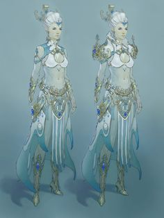 Guild Wars 2 female Elementalist concept, Aaron Coberly on ArtStation at http://www.artstation.com/artwork/guild-wars-2-female-elementalist-concept