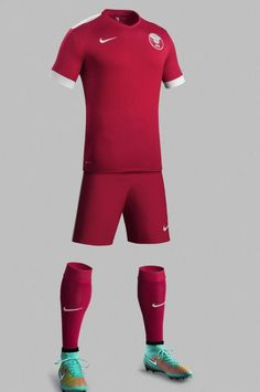 New Qatar Nike Football Kits 2014-2015- Qatar Home Away Jerseys 14-15 c086f237b