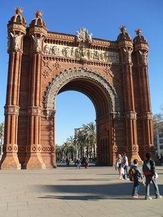 Arc de Triomf in Barcelona, Spain !!! Photography by Pedro Almeida !!Flickr-photo sharing ...