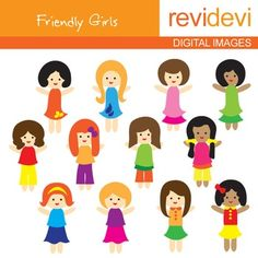 Clip art - Freebie - Girls clipart - Free. Set of 12. Cute kids digital images. Great for Pre-K and kindergarten themed projects. A great resource for TpT teacher seller. DON'T FORGET TO RATE! Your rating is highly appreciated.You might also likeLink-Free clipart - Kimono KidsFor more collection http://www.teacherspayteachers.com/Store/Revidevi TERMS OF USEFor TEACHERS AND EDUCATORS:You can use my products personally , commercially for digital games or educational sheets.