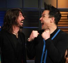 Mark Hoppus and Dave Grohl, yesssss.
