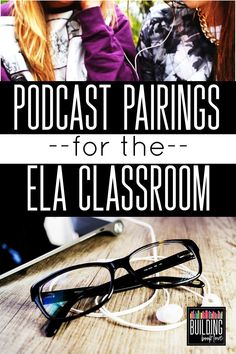 Pairings for the Secondary ELA Classroom: Podcasts to use in English Class Podcast Pairings for the ELA Classroom: Podcasts to use in English Class!Podcast Pairings for the ELA Classroom: Podcasts to use in English Class! Ela Classroom, High School Classroom, English Classroom, Classroom Ideas, Google Classroom, Future Classroom, Ela High School, High School Reading, High School Literature
