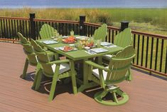 With room for six, our Berlin Gardens Poly Garden Classic Iris Patio Table will give you and your loved ones a place to relax and enjoy every outdoor get togeth Iron Patio Furniture, Outdoor Dining Furniture, Outdoor Dining Set, Outdoor Decor, Furniture Ideas, Amish Furniture, Lounge Furniture, Outdoor Lounge, Wood Furniture