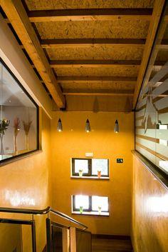 THERMOCHIP® TOH es el panel sándwich formado por un tablero de partículas orientadas OSB3. #panel #sandwich #madera #wood #bois #decor #decoration #decoracion
