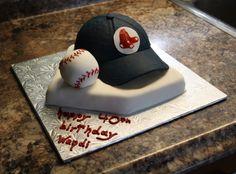 Red Sox Cake — Baseball / MLB