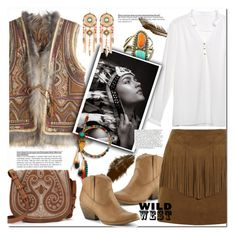 """""""Wild West Style"""" by huda-alalawi ❤ liked on Polyvore featuring Relaxfeel, Calypso St. Barth, Volatile and Yves Saint Laurent"""