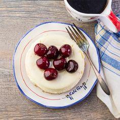 Very Lemon Cherry Cheesecake, Gluten Free