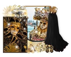 """""""Ready to Venice Carnival? - Contest!"""" by asia-12 ❤ liked on Polyvore featuring Alexander McQueen and Dolce&Gabbana"""