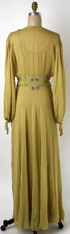Lingerie Date: ca. 1935 Culture: American Medium: synthetics, glass. Back