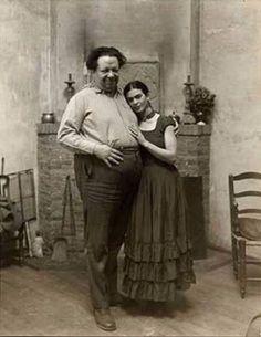 Frida Kahlo (1907 – 1954) & Diego Rivera (1886 – 1957)