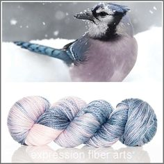 Trust luster worsted merino tencel yarn by expression fiber arts
