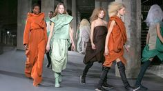 Rick Owens Designs for the End of Days; Dior and Lanvin Soldier On - The New York Times