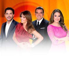 Andrea Legarreta Galilea Montijo Raul Araiza y Hector Sandarti en #Hoy Lunes a Viernes 9.00am televisa.com/hoy