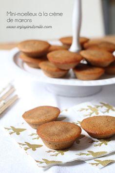 Pour finir en beauté un repas de fête, accompagnez votre café d'un mini-moelleux à la crème de marrons