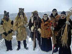 Latvian winter mask and mumming traditions. Latviešu maskošanās tradīcijas ZIEMĀ.