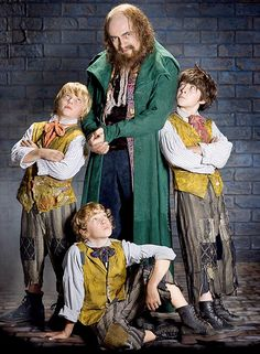 Hotly-anticipated show: Rowan Atkinson plays Fagin in Sir Cameron Macintoshs revival of Lionel Barts musical Oliver!  Read more: http://www.dailymail.co.uk/tvshowbiz/article-1110048/The-real-tragedy-Oliver--Sir-Cameron-Macintosh-reveals-poignant-story-man-musical.html#ixzz0ls5BW7pc