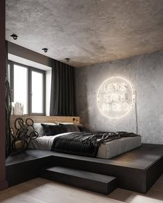 Elevated bed with a view. Elevated bed with a view. Elevated bed with a view. Elevated bed with a vi Vintage Bedroom Decor, Home Decor Bedroom, Cozy Bedroom, Bedroom Storage, Kids Bedroom, White Bedroom, Budget Bedroom, Boy Sports Bedroom, Bedroom Loft