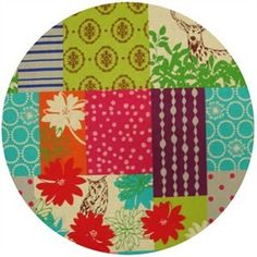 Echino Fall 2011, OILCLOTH, Patchwork Cheater Spring  $14.50