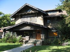 South Pasadena, craftsman house