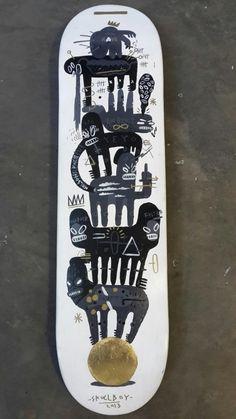 Skullboy skate deck