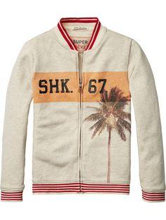 Beachy Varsity Jacket