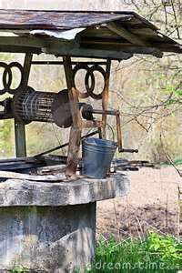 old water well at great grandparents house in N.C....Old Country Club Road