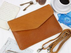 Leather Envelope Clutch Bag from Scaramanga's original and classic leather bag collections Envelope Clutch, Clutch Bag, Classic Leather, Leather Accessories, Leather Bags, Travel Bags, Collections, Handbags, Wallet