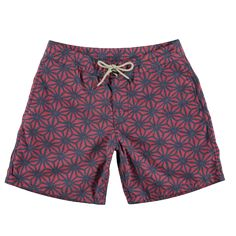 """The boardshort you've always wanted. - 7"""" inseam - Vintage sun washed finish - Recycled polyester drawstring and buttons - Comfort knit strip to prevent chaffing - Durable water repellent (DWR) for a"""