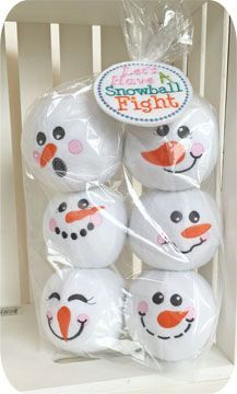 Embroider & Sew :: Snowman Snowballs Set 2 - Embroidery Garden In the Hoop Machine Embroidery Designs