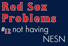 Red Sox Problems.