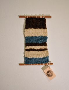 Weaving Wall Hanging Trio by 278studio on Etsy