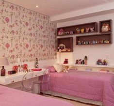 Nice Quarto Decorado Com Nicho that you must know, Youre in good company if you?re looking for Quarto Decorado Com Nicho Decor, Sweet Home, Princess Room, Girls Bedroom, House, Interior Design, Home Decor, Room, Room Decor