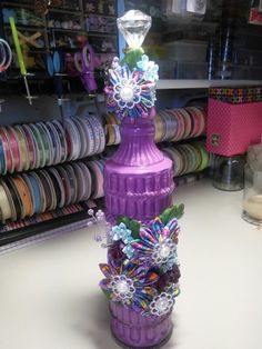 New bottle.  Purple for a tween who made honor roll.