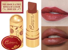 1970's makeup---Besame-Lipstick