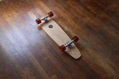 Suji Base 28″ by Skateboards / Base 28″ is a solid-oak cruiser skateboard made by French company Suji Skateboards. http://thegadgetflow.com/portfolio/suji-base-28-skateboards/