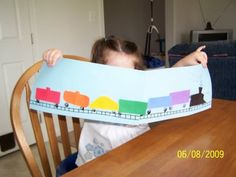 colours and shapes: Kindy Freight Train
