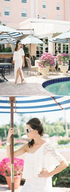 Retro Palm Beach Bridal Style: WildeFlower Boutique at The Colony