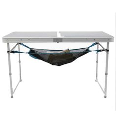 Our team of camping enthusiasts have created this net to give you a bit of extra storage space, no matter which Quechua camping table you have. Camping Ideas, Camping Bedarf, Camping Storage, Best Camping Gear, Family Camping, Folding Camping Table, Table Camping, Drive In, Extra Storage Space