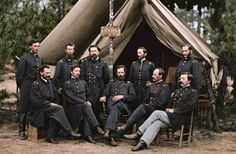 The Civil War in Color – 28 Stunning Colorized Photos That Bring American Civil War Alive As Never Seen Before ~ vintage everyday American Revolutionary War, American Civil War, American History, Captain American, World War I, World History, Battle Of Antietam, Virginia, History Magazine