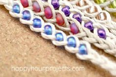 Wish Bracelets DIY Project!  Do you or your kids enjoy making jewelry at home? If so, we have a fun summer activity for your family! You can make these fu