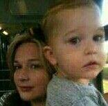 Andy's daughter, Peta, and his grandson