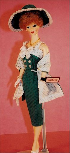 Joshard OOAK make over reproduction Barbie doll classic 50's look AFKA Joshard Jeff Bouchard
