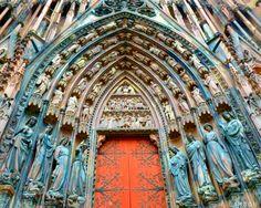 Strasbourg Cathedral April 6th, 2014 Taken by me: Margaret A. Larson