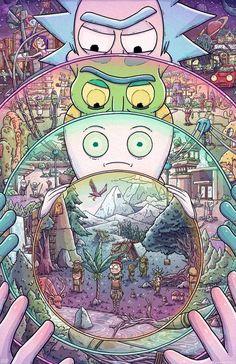 Peace Among Worlds - Rick and Morty fanart