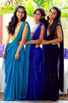 Indian Bridesmaid Dresses, Party Wear Indian Dresses, Bridesmaid Saree, Bridesmaid Outfit, Saree Jacket Designs, Saree Blouse Neck Designs, Hipster Style Outfits, Mom Outfits, Bridal Lehenga