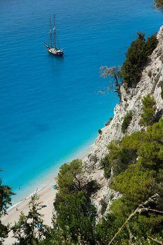 The beauty of Lefkada island, Greece