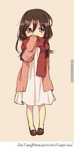 Mikasa.... Que tierna :)