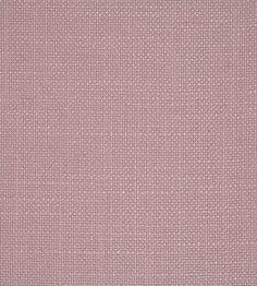 Tuscany Fabric by Sanderson | Jane Clayton. 15 GBP/m.  Mörkare rosa alternativ med grövre struktur.