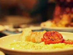 Recetas : Narda Lepes| Huevos con burrata y tomates grill | Utilisima