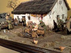 Atyi Tibor diorama ,Bmw R75  1 /35 Italeri